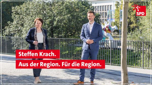 Regionspräsidentenkandidat Steffen Krach